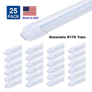 Details About R17d 8 Foot Led Bulb 45w 96 Inch T8 T12 8ft Led Tube Light R17d Ho Base Lights