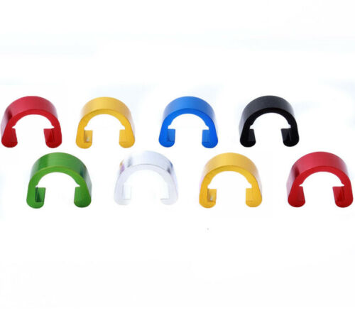 10pcs Alloy Hydraulic Housing C-Clips MTB Bicycle Brake Cable Fixing Clip Bike