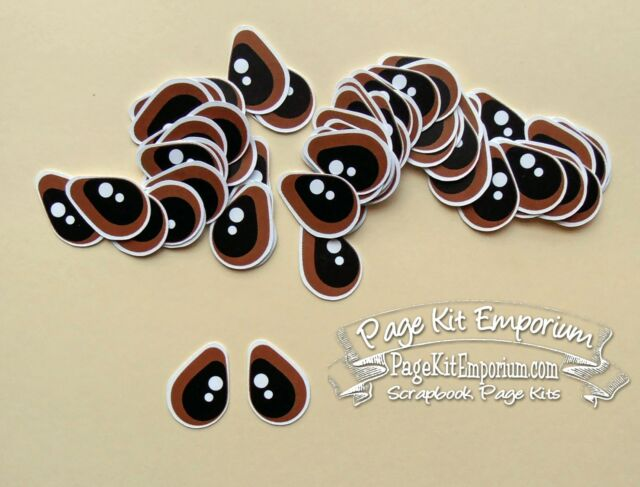 Tear Bear Animal People Eyes 36 Sets MEDIUM BLUE Eyes Handmade PKEmporium