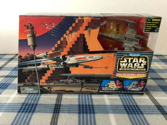 VTG * NIB * Micro Machines Yavin Rebel Base ACTION Play Set - Galoob 1997 NEW !