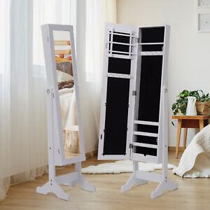 Espejo-de-Pie-144x34x37cm-Joyero-Integrado-Organizador-Joyas-para-Dormitorio
