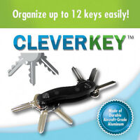 Clever Key As Seen On Tv Key Up To 12 Keys-black