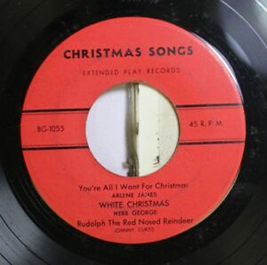 Christmas-45-Arlene-James-You-039-Re-All-I-Want-For-Christmas-All-I-Want-For-Chr