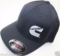 S/m Cummins Hat Ball Cap Fitted Flex Fit Flexfit Stretch Base Ball Cummings Gear