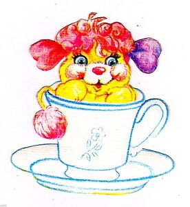"""6/"""" Disney alice in wonderland teacup wall safe sticker border cut out character"""