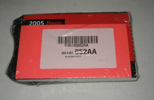2005-DODGE-NEON-OWNERS-MANUAL-SET-05-w-case-NEW