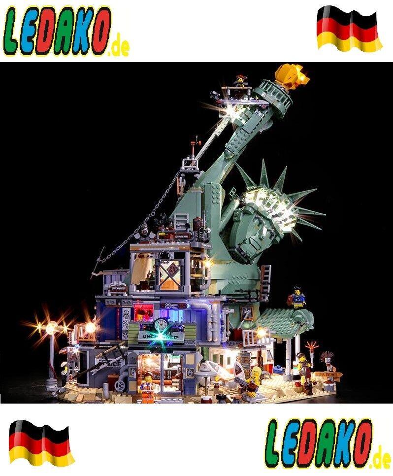 Mega DEL Lumière lumière Kit pour LEGO ®  70840 Apocalypse Burk Movie 2 UCS ledako  offre spéciale