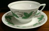 Royal Doulton CASTLEFORD GREEN Tea Cup and Saucer Set