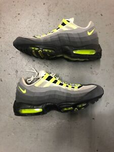Details about Mens 12 Nike Air Max 95 OG Neon Grey 554970 174 Plus TN 90 97 98 93 1 Vapormax