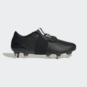 Adidas Y-3 Predator Rugby Bottes Tailles 7.5-13.5 Noir RRP £ 250 Brand New EE7408