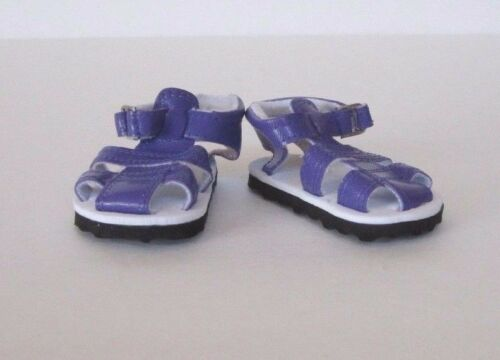 Easy-to-Use DARK PURPLE FISHERMAN-STYLE SANDALS fits American Girl Dolls