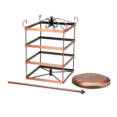 Women's Earrings Holder Display Hanger Ladys Rack Jewelry Rotating Stands Store
