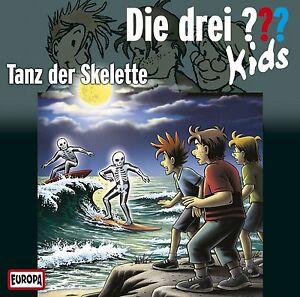 die drei ??? fragezeichen kids - folge 48: tanz der skelette cd | ebay