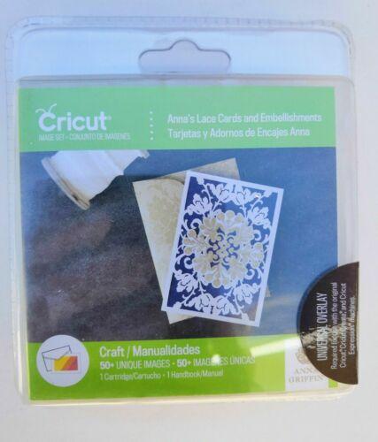 Brand New Sealed Cricut Cartridge Lace Cards /& Embellishments