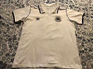 Adidas Germany Retro Vintage Soccer Jersey Football Shirt XL Gerd Muller #13 DFB