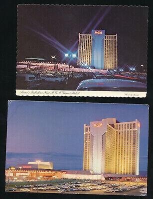 E431 Chrome Advertising Postcard 4x6 MGM Grand Hotel