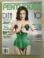 PENTHOUSE April 2007 ERICA CAMPBELL / DITA VON TEESE / AVA ROSE / KELLE MARIE