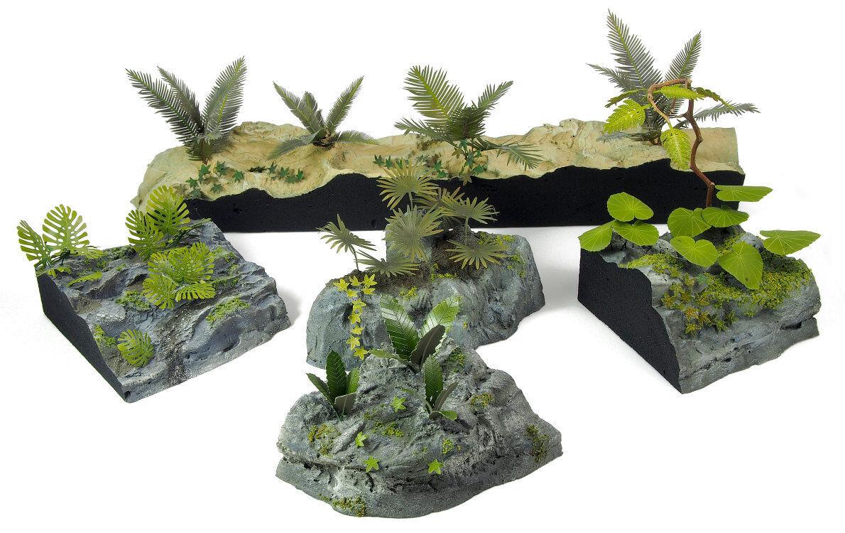 Matho modelle 35082 pflanzen des dschungels satz 1 1 - skala