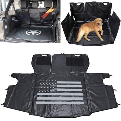 Pet Dog Hammock Oxford Trunk Waterproof Seat Cover Cargo