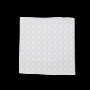 Details About 100x Adhesive Silicone Feet Bumper Stops Door Cupboard Drawer Cabinet Kitchen Kd