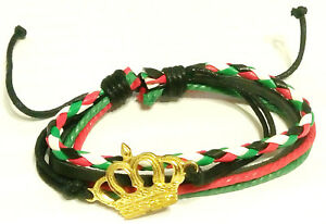 Unisex Palestine Flag Beads Bracelet Fashion Palestine Map Wristband Cuff