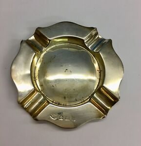 Vintage-Solid-Silver-Ashtray-Unknown-Year-or-Maker-Birmingham-42-1grams