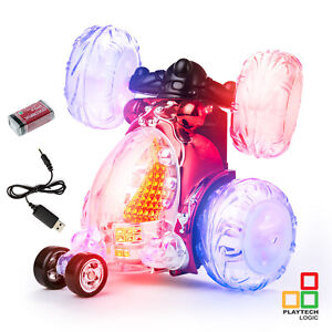 Radio Remote Control Stunt Cars For Kids Turbo 360 Twister Rc Car Boys Girls Toy 5060330931240 Ebay