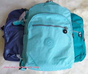9dc4411a998 New w Tag Kipling Seoul Small Backpack with furry monkey | eBay