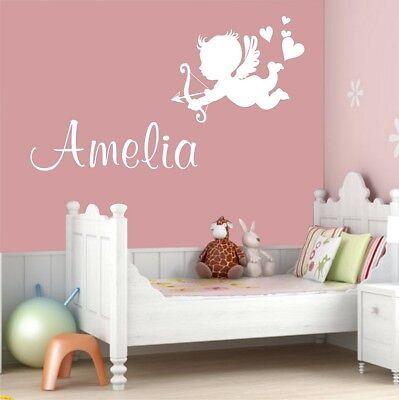 Amor Adesivi Murali Le Personalizzazioni Nome Camera Da Letto Decalcomania Cupido-n Name Bedroom Cupid Decal It-it Alleviare Il Calore E La Sete.