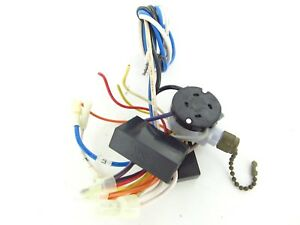 9 used hampton bay ceiling fan wiring harness with switches rh ebay com Hampton Bay Ceiling Fan Capacitor Diagram Hampton Bay Ceiling Fan Capacitor Diagram
