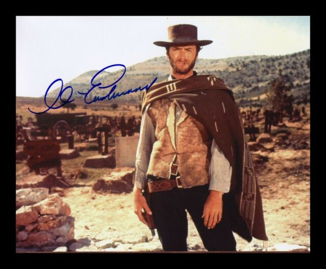 CLINT EASTWOOD AUTOGRAPHED SIGNED /& FRAMED PP POSTER PHOTO