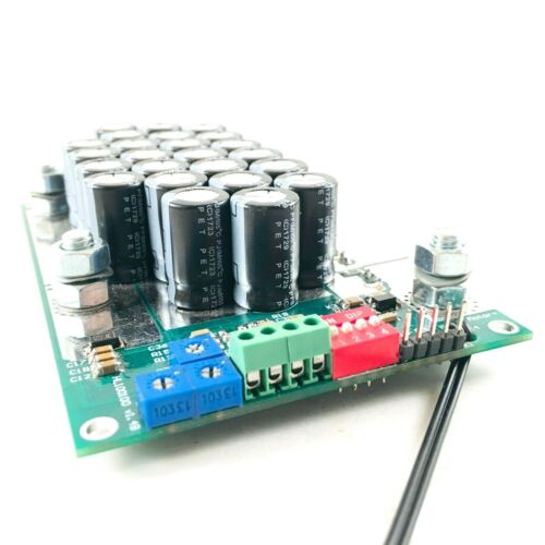 140A 200V 48V 72V current limited DC motor speed controller PWM RS232 arduino