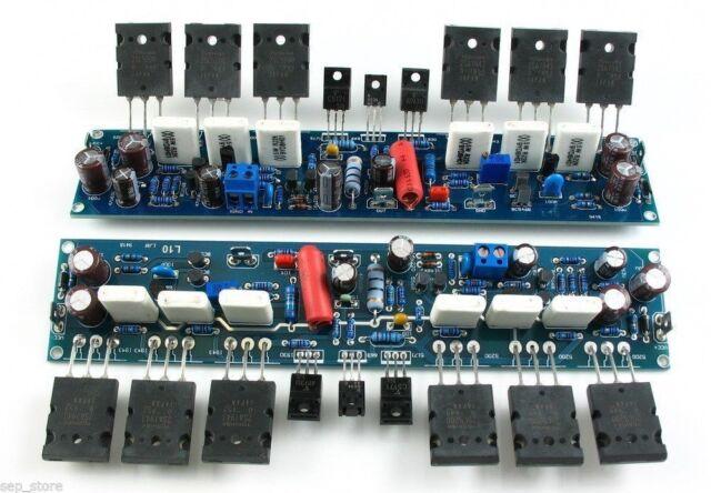 DIY kit Stereo L10 Dual-Channel Power Amplifier Kit 200W+200W 1943 5200