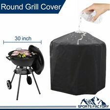 30inch BBQ Grill Cover Gas Fire Pit Barbecue Heavy Duty Waterproof Outdoor Black