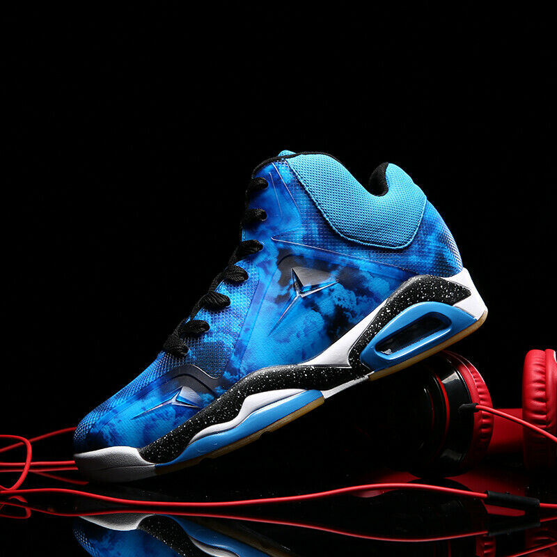 Men's Basketball shoes High Top Sports Sneakers Air Cushion Athletic Breathable