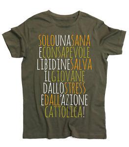 T-shirt-uomo-ZUCCHERO-Solo-una-sana-e-consapevole-libidine-tshirt