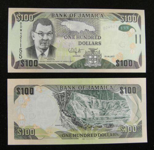 Jamaica Banknote 100 Dollars 2017 UNC