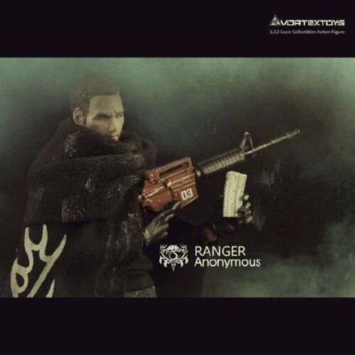 6in Anonymous Ranger People Series 1//12 Scale VORTEXTOYS V00012 Action Figures