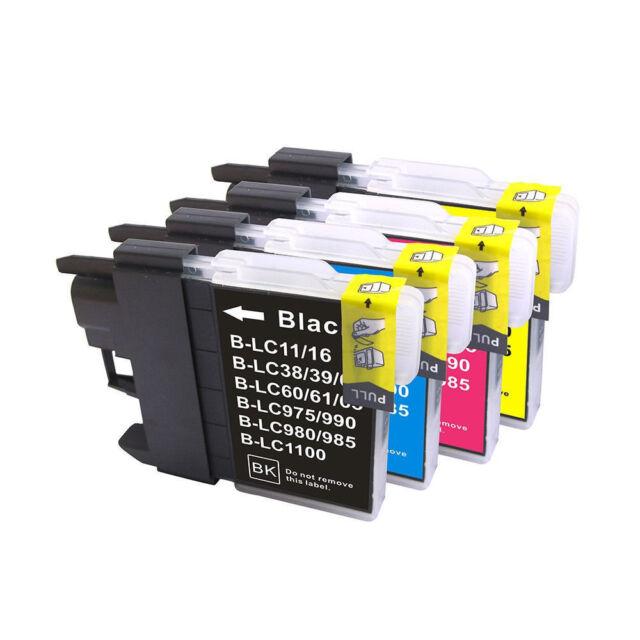 5x INK for BROTHER LC-38 LC38 LC67 LC-67 DCP145C DCP165C DCP185C DCP195C Printer