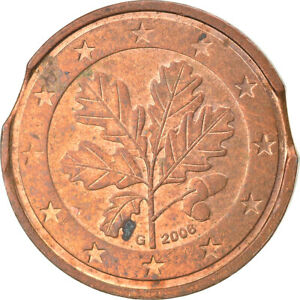 [#859788] République fédérale allemande, 2 Euro Cent, 2004, Karlsruhe, error dou