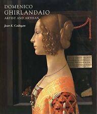 Domenico Ghirlandaio: artista y artesano por Jean K. Cadogan (tapa Dura, 2001)