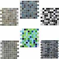 Self-Adhesive Mosaic Tile Sticker Bathroom Kitchen Transfers Transform 280X265MM
