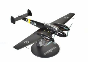 MESSERSCHMITT BF 110 E-2 1942-1//72 WW2 Atlas AVION MODEL PLANE AIRCRAFT F010