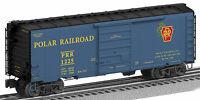Lionel 6-27263 Polar Railroad Ps-1 B0xcar 1225 (3 Rail)