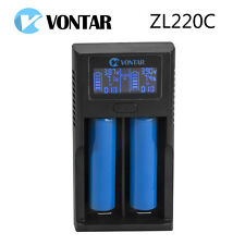 LCD USB Battery Charger Power for Li-ion 26650 18650 18500 18350 17670 16340