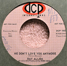 Ray Allen He Don't Love You Anymore Teen Ballad Western Edge 45 NM Please Make