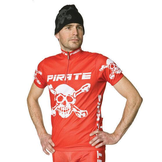 Pirate Trikot red, Skull, Totenkopf, Pirat