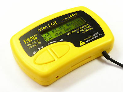 Peak LCR40 Atlas LCR Passive Component Analyser From Japan New F/S