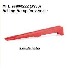Micro-Trains MTL Z Scale Rerailer Re-Railer Ramp Locomotives Cars *NEW $0 SHIP