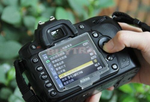 Funda De Plástico Duro Protector de Pantalla LCD para Nikon D90 BM-10 DS@HLDUK